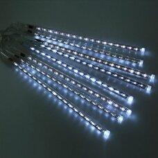 30cm LED meteorų lietus Šaltai balta