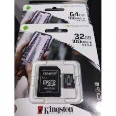 32GB micro SD kortelė