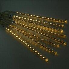 50cm LED meteorų lietus Šiltai balta