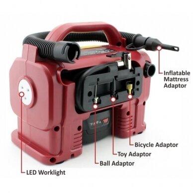 Akumuliatorinis kompresorius 20V LI-ION 7