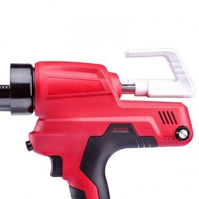 Akumuliatorinis pistoletas hermetikams 20V LI-ION 2
