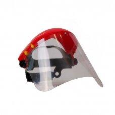 Apsauginis veido skydelis su stiklu FS-001