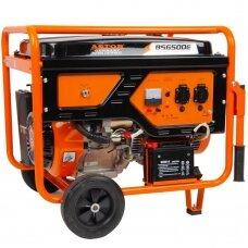 Benzininis generatorius BS-6500E (vienfazis)