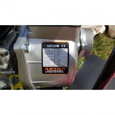 Benzininis vandens siurblys WP-30X 4