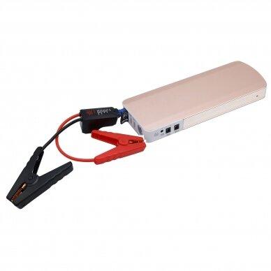 Daugiafunkcinis įkroviklis-paleidėjas su smart kabeliu 12V 1000A 18Ah