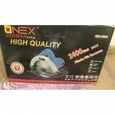 Diskinis pjūklas Onex 2400w OX-1061