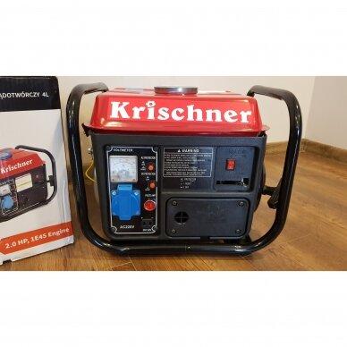 """DVITAKTIS BENDZININIS ELEKTROS GENERATORIAUS """"Krischner"""" KR-4165 2"""