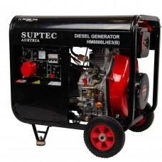 Dyzelinis generatorius (vienfazis) HM 6000 LHE(B)