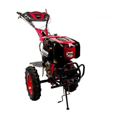 Dyzelinis kultivatorius-motoblokas RIDER 1350-DE 2