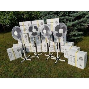 Pastatomas elektrinis ventiliatorius