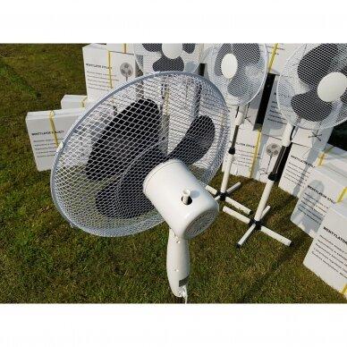 Pastatomas elektrinis ventiliatorius 2
