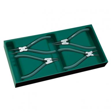 Įrankių spintelė NTBR4006X su SATA įrankiais 300vnt. 12