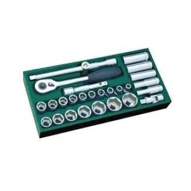 Įrankių spintelė NTBR4006X su SATA įrankiais 300vnt. 4