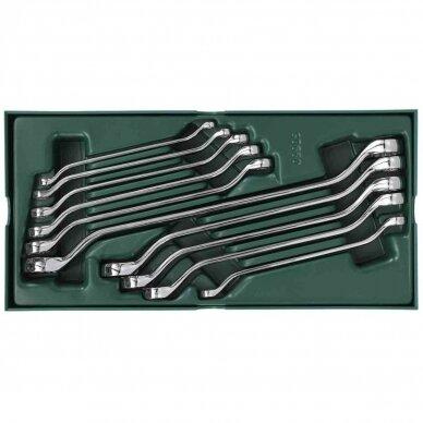Įrankių spintelė NTBR4006X su SATA įrankiais 300vnt. 6