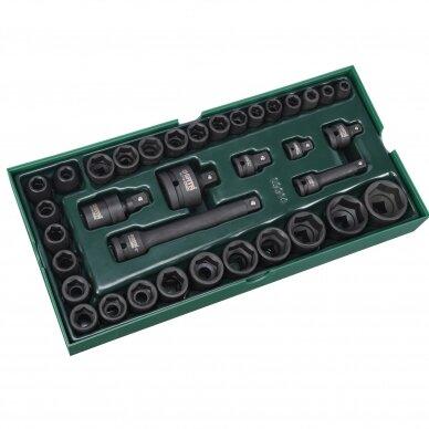Įrankių spintelė NTBR4006X su SATA įrankiais 300vnt. 15