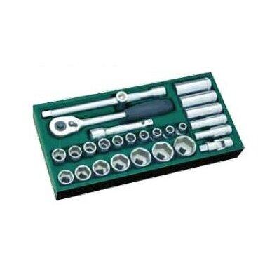 Įrankių spintelė TBR9007X su SATA įrankiais 300vnt. 5