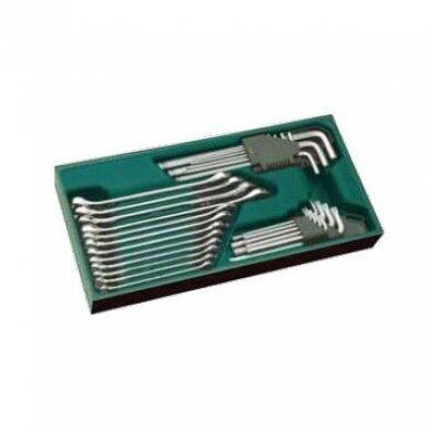 Įrankių spintelė TBR9007X su SATA įrankiais 300vnt. 8