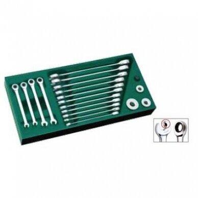 Įrankių spintelė TBR9007X su SATA įrankiais 300vnt. 10