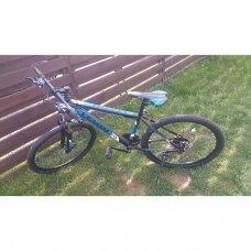 Kalnų dviratis VENOM 26x17 Mėlyna/Juoda