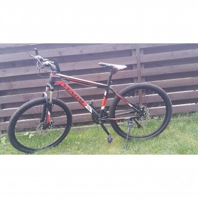 Kalnų dviratis VENOM 26x17  Raudona/Juoda