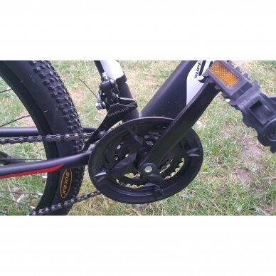 Kalnų dviratis VENOM 26x17  Raudona/Juoda 11