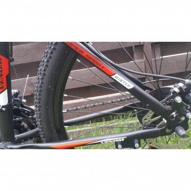 Kalnų dviratis VENOM 26x17  Raudona/Juoda 3