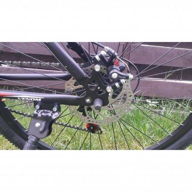 Kalnų dviratis VENOM 26x17  Raudona/Juoda 4