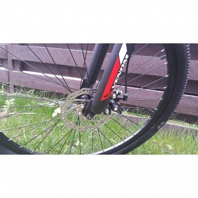 Kalnų dviratis VENOM 26x17  Raudona/Juoda 5