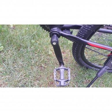 Kalnų dviratis VENOM 26x17  Raudona/Juoda 8