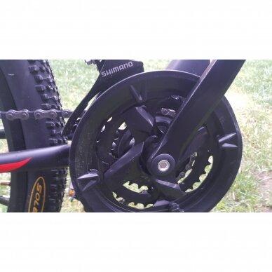 Kalnų dviratis VENOM 26x17  Raudona/Juoda 10