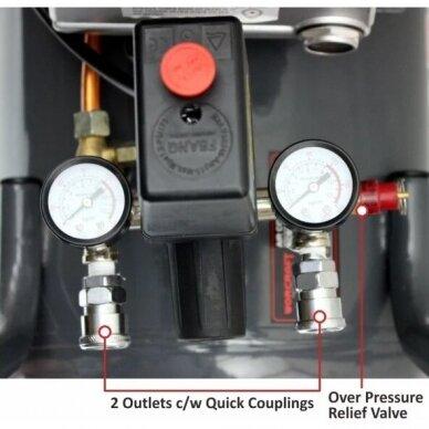 Oro kompresorius 50L 206L/min 8bar 3