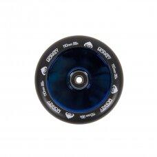 Paspirtuko ratukas Monkey Hollowcore blue-chrome 110mm