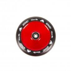 Paspirtuko ratukas Monkey Hollowcore red-chrome 110mm