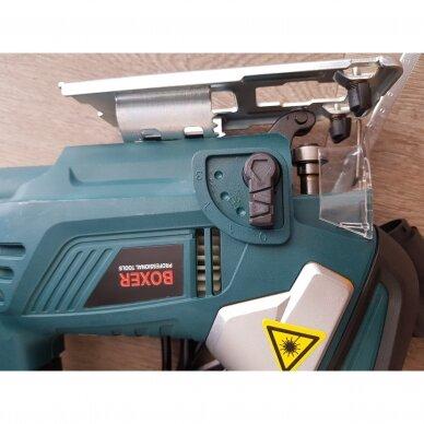Siaurapjuklis BOXER 207 su lazeriu 7