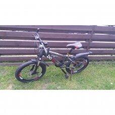 Vaikiškas dviratis BS20 Raudona/Juoda